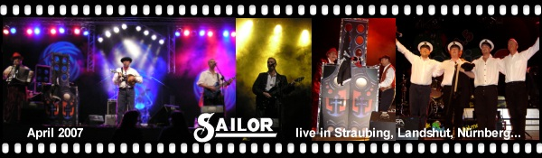 Click here for the new SAILOR concert photos, reviews & video - April 2007