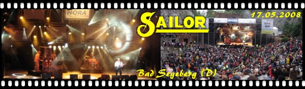 Click here for the new SAILOR concert photos and videos from Bad Segeberg!
