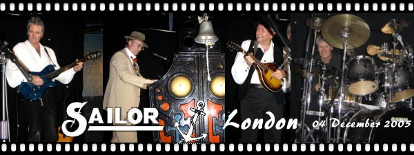 SAILOR - London (UK) 04.12.2005