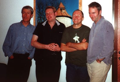 SAILOR in Rotenburg: Grant, Rob, Phil and Peter