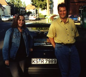 Katrin and Horst - June 2000